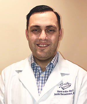 Branford oral surgeon Justin Dessereaux DDS